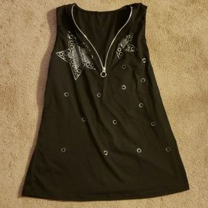Bedazzled tank top